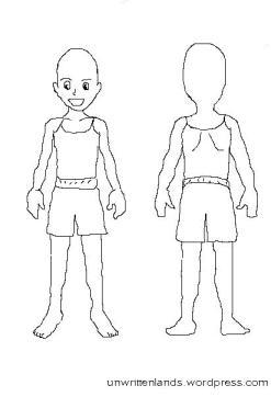 child body blank